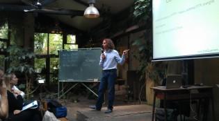 Gabriele Bartolini conclude l'intervento su Barman