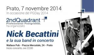 Concerto Nick Becattini